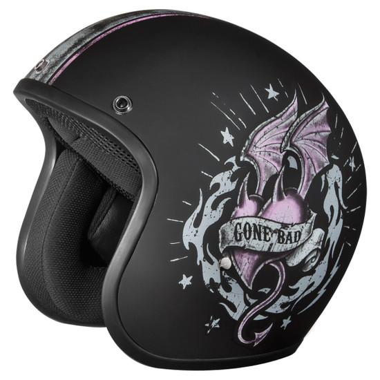 Daytona Women's Cruiser Gone Bad Helmet