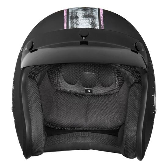 Daytona Women's Cruiser Gone Bad Helmet - Front View