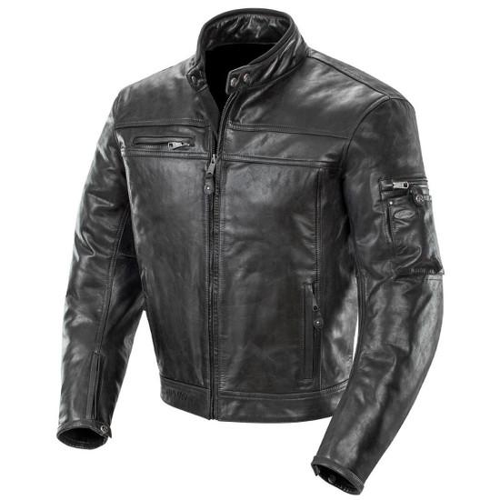 Joe Rocket Powershift Mens Leather Motorcycle Jacket