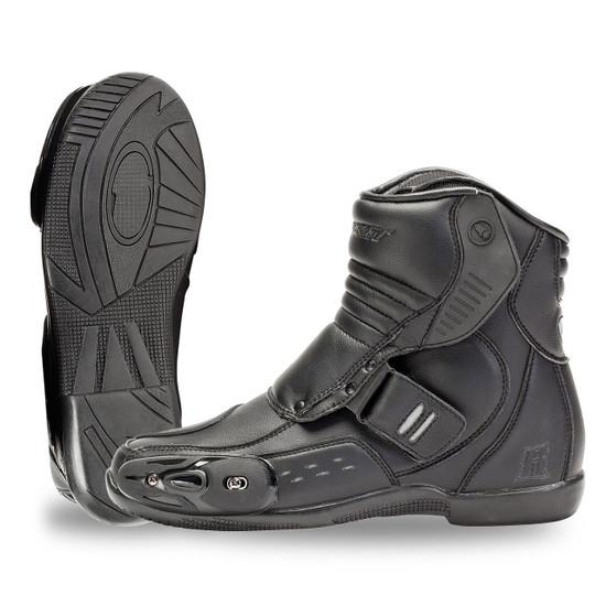 Joe Rocket Meteor FX Waterproof Motorcycle Boots Black Mens All Sizes