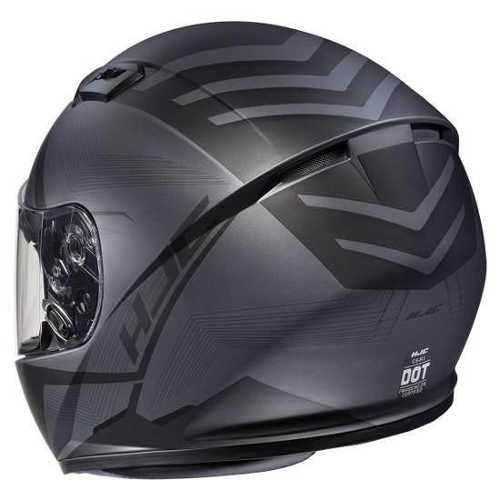 HJC CS-R3 Faren Helmet - Rear View