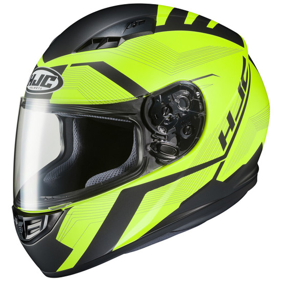 HJC CS-R3 Faren Helmet - Black/Hi-Viz