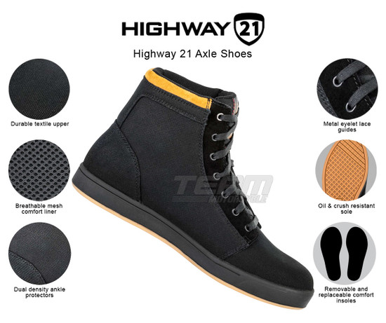 Highway 21 Axle Shoes - Infographics