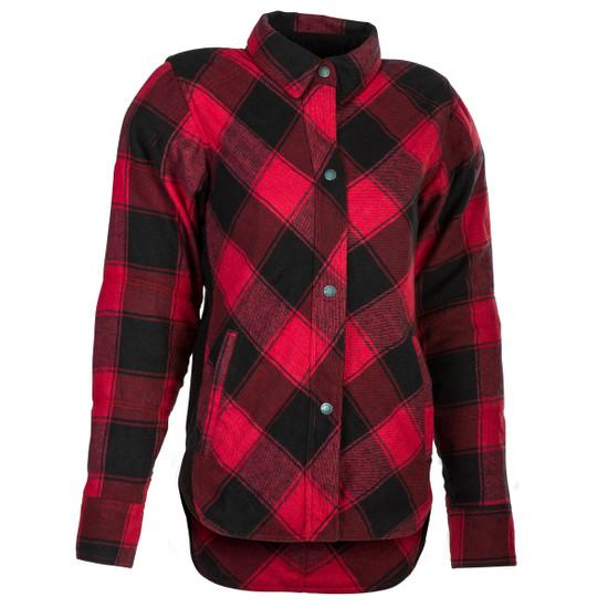 Highway 21 Women's Rogue Flannel Shirt - Red/Black
