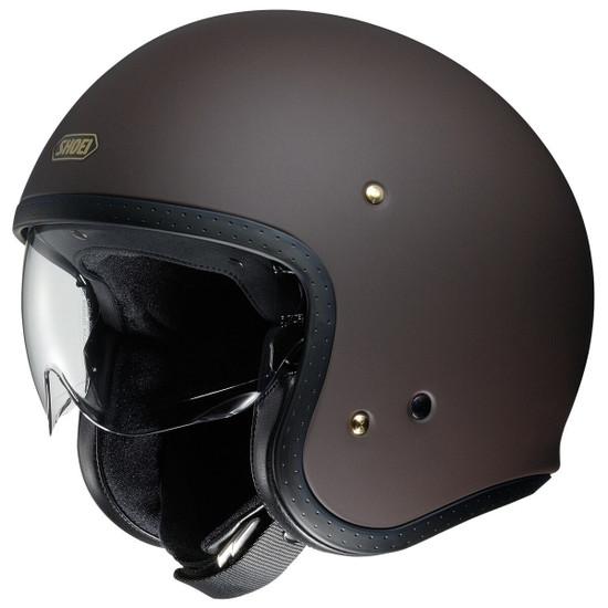 Shoei J·O Helmet - Brown