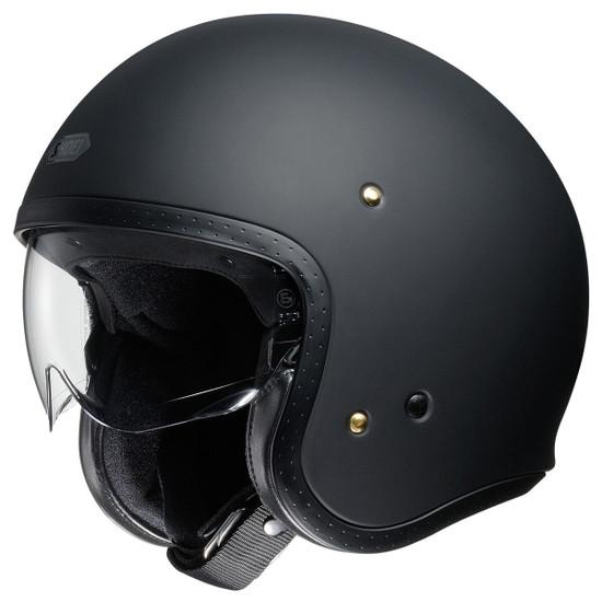 Shoei J·O Helmet - Matte Black