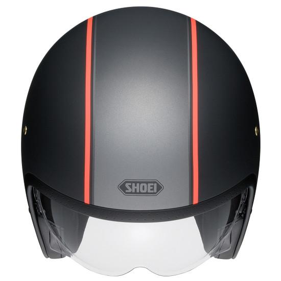 Shoei J·O Carburetor Helmet - Top View