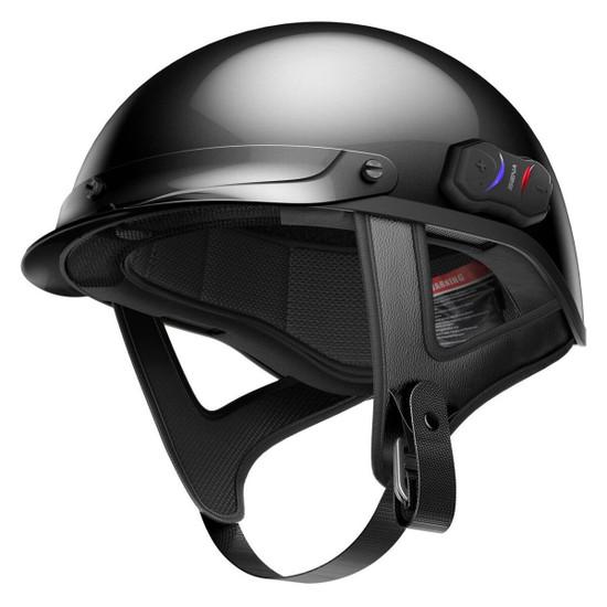 Sena Cavalry Bluetooth Half Helmet Side View