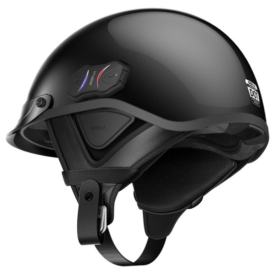 Sena Cavalry Bluetooth Half Helmet Back View
