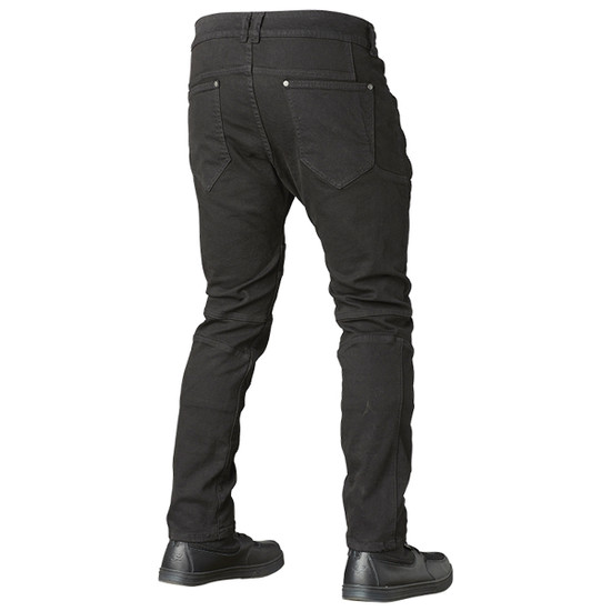 Speed and Strength Havoc Taper Fit Jeans-Black-Back-View
