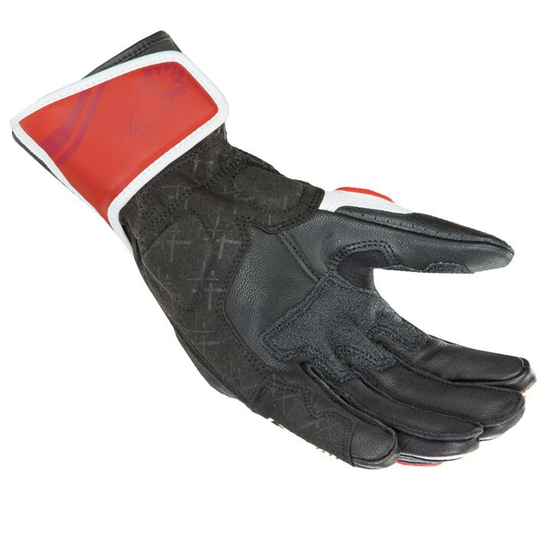 Joe Rocket GPX 2.0 Mens Leather Motorcycle Gloves - Palm View