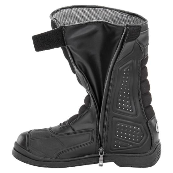 Joe Rocket Sonic X Mens Motorcycle Riding Boots - Side Zipper