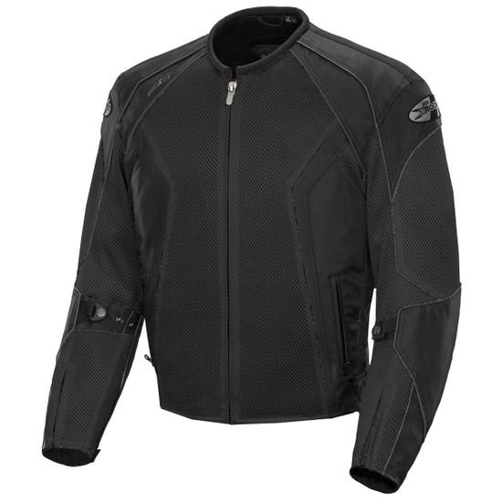 Joe Rocket Phoenix 6.0 Mens Mesh Motorcycle Jacket - Black