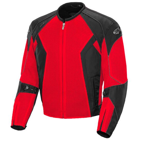 Joe Rocket Phoenix 6.0 Mens Mesh Motorcycle Jacket - Black/Red