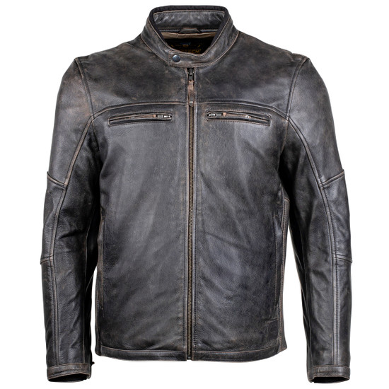 Cortech Idol Mens Motorcycle Leather Jacket - Brown