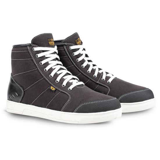 Cortech Freshman Mens Motorcycle Shoes - Black/White