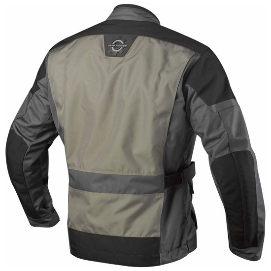 Firstgear Jaunt Jacket - Charcoal Back View