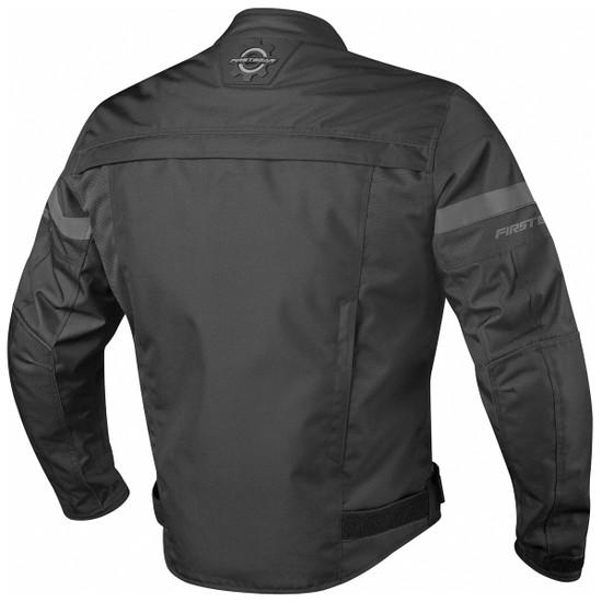 Firstgear Rush Jacket - Black Back View
