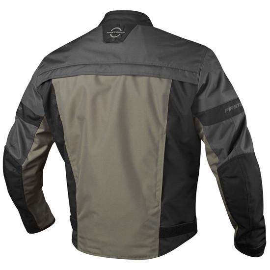 Firstgear Rush Jacket - Charcoal Back View