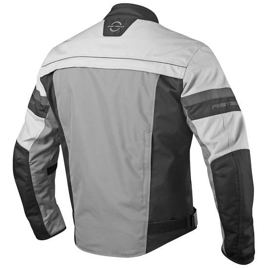 Firstgear Rush Jacket - Silver Back View