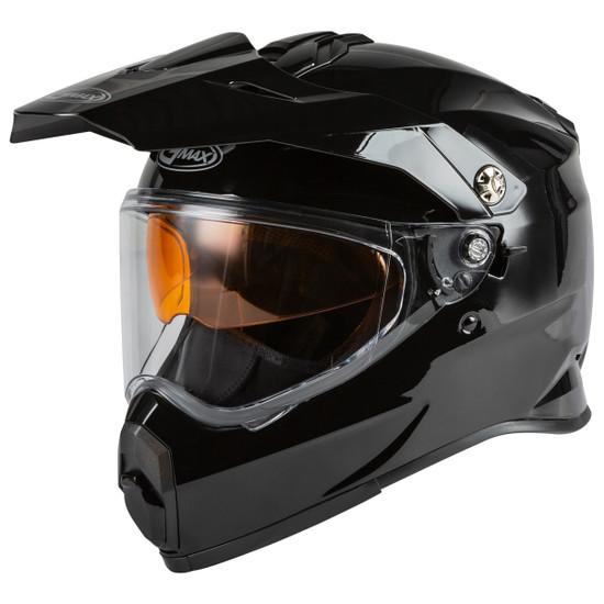 GMax AT-21S Adventure Snow Helmet - Black