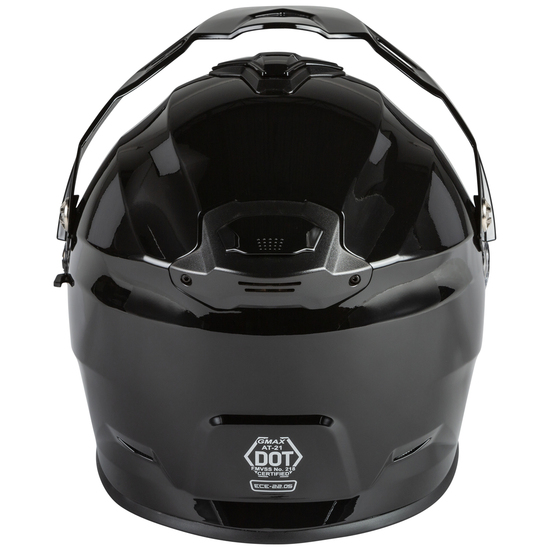 GMax AT-21S Adventure Snow Helmet - Back View