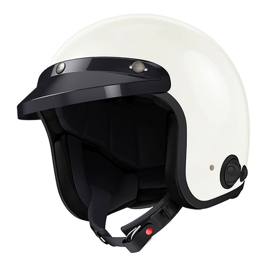 Sena Savage Bluetooth-Integrated Helmet White