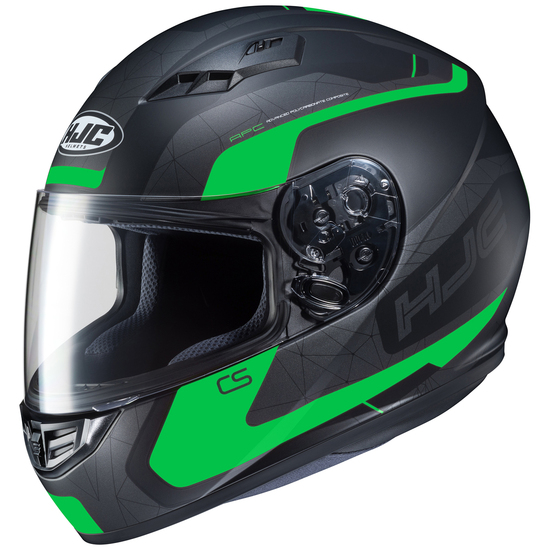 HJC CS-R3 Dosta Helmet-Black/Green