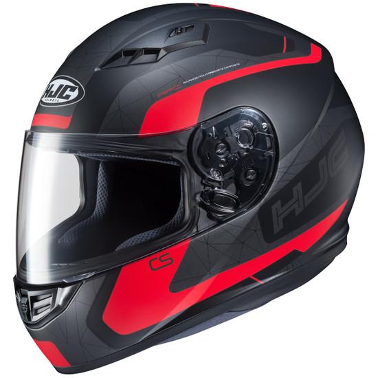 HJC CS-R3 Dosta Helmet-Black/Red