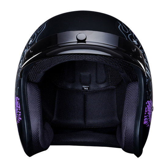 Daytona Cruiser Heaven Sent Helmet - Front View