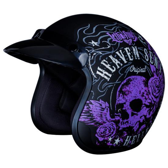 Daytona Cruiser Heaven Sent Helmet
