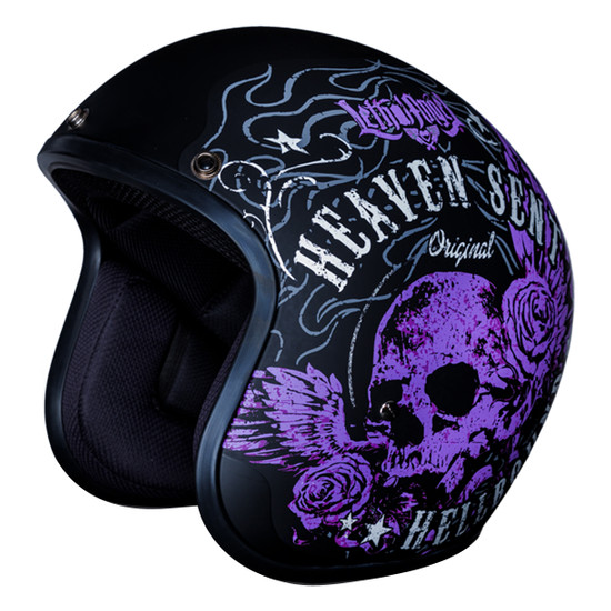 Daytona Cruiser Heaven Sent Helmet - Without Visor