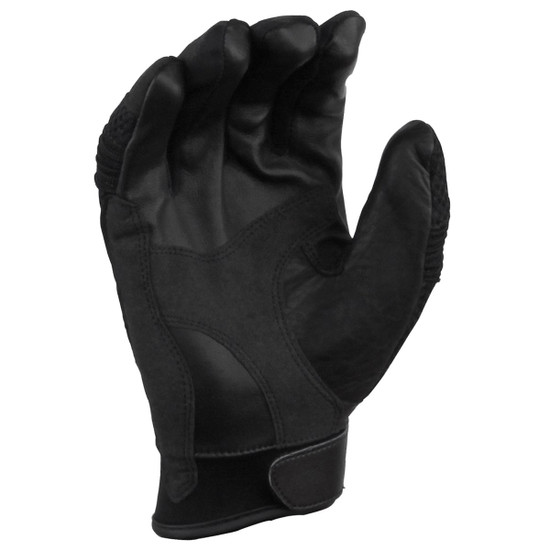 Vance GL707 Mens Black Short Mesh Motorcycle Gloves - Palm View