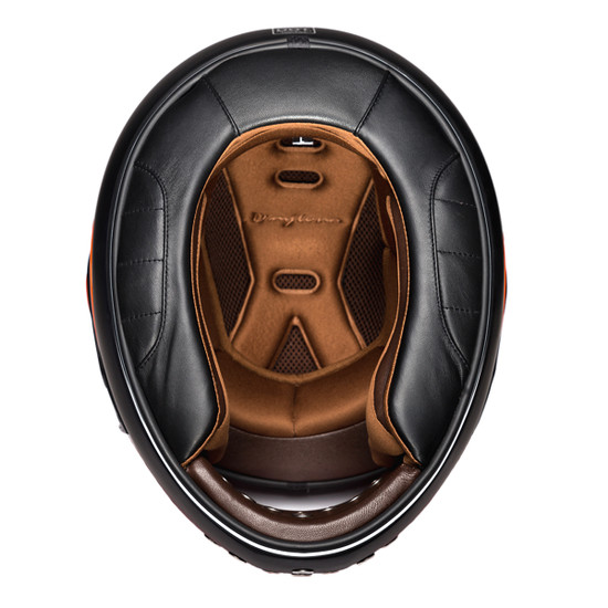 Daytona Retro Helmet - Inner View
