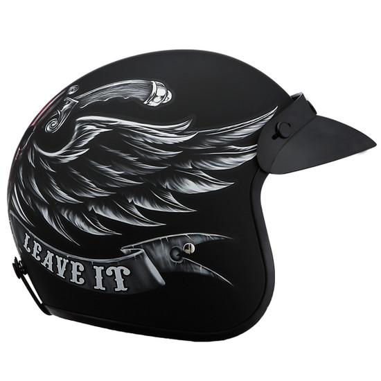 Daytona Cruiser Love It Helmet - Side View