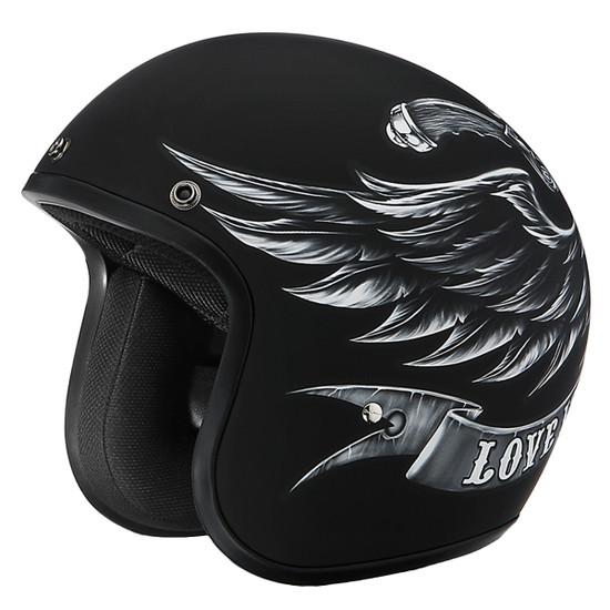 Daytona Cruiser Love It Helmet - Without Visor