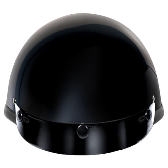Daytona Novelty Smokey With Snaps Half Helmet - Front