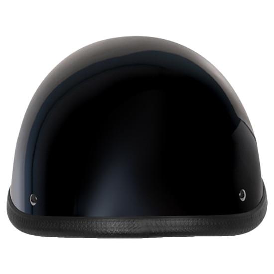 Daytona Novelty Smokey With Snaps Half Helmet - Rear