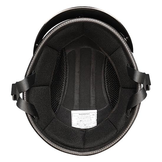 Daytona Novelty Smokey With Snaps Half Helmet - Inside