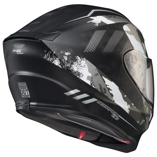 Scorpion EXO-R420 Distiller Helmet - Rear View