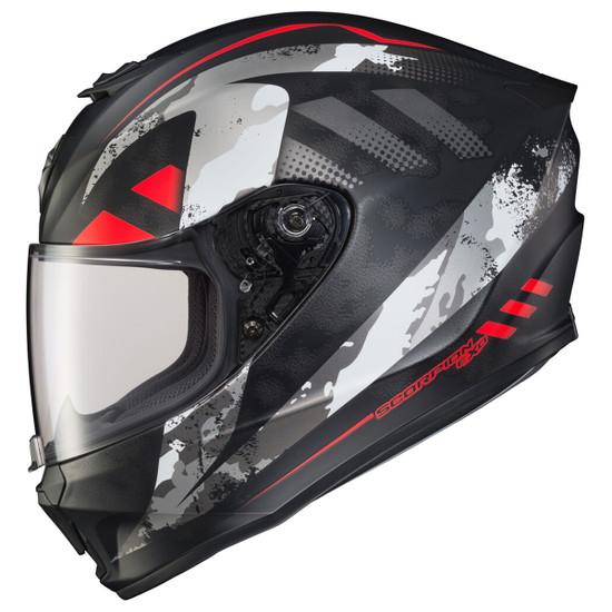 Scorpion EXO-R420 Distiller Helmet - Black/Red