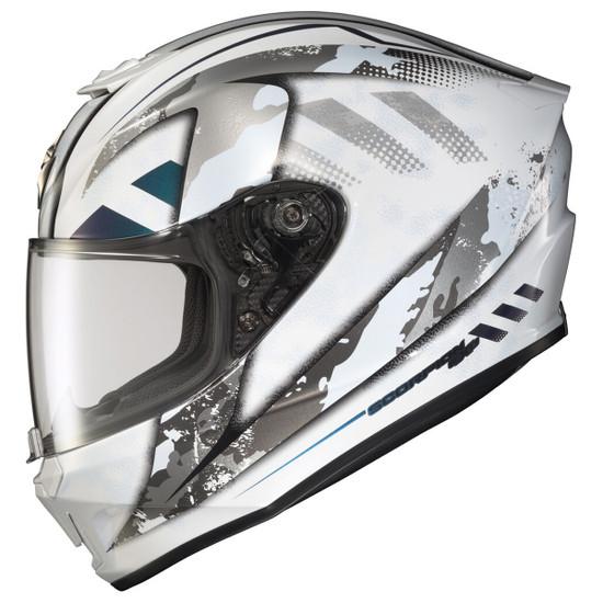 Scorpion EXO-R420 Distiller Helmet - White