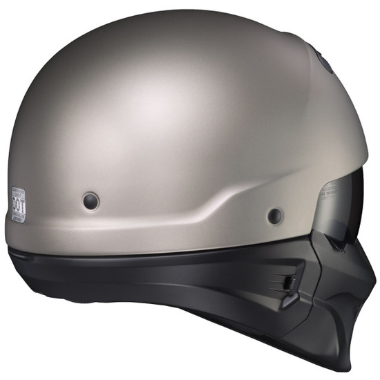 Scorpion Covert Titanium Evo Helmet - Rear View
