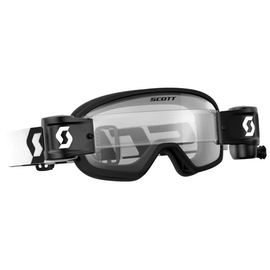Scott Youth Buzz Pro Works Film System Goggles - Black/White