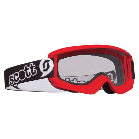 Scott Youth Agent Goggle - Red