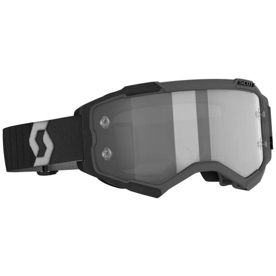Scott Fury Goggle - Black/Grey