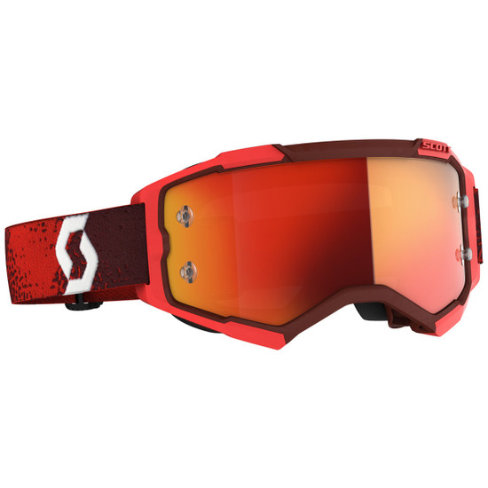 Scott Fury Goggle - Dark Red