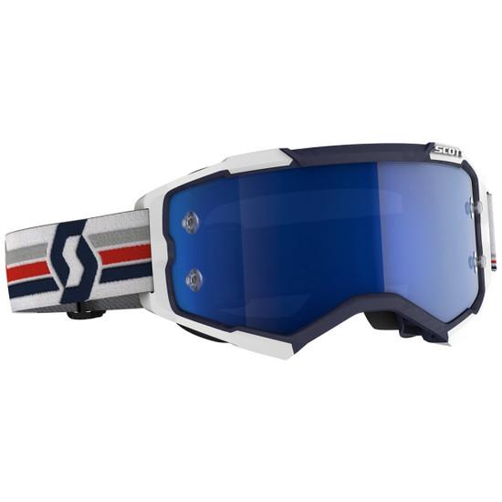 Scott Fury Goggle - White/Blue