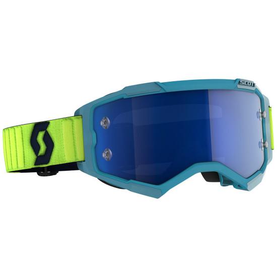 Scott Fury Goggle - Teal