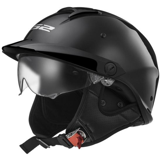 LS2 Rebellion Helmet - Black